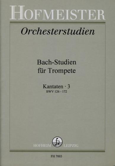 - Bach-Studien Für Trompete - Kantaten 3 - Partition - di-arezzo.co.uk