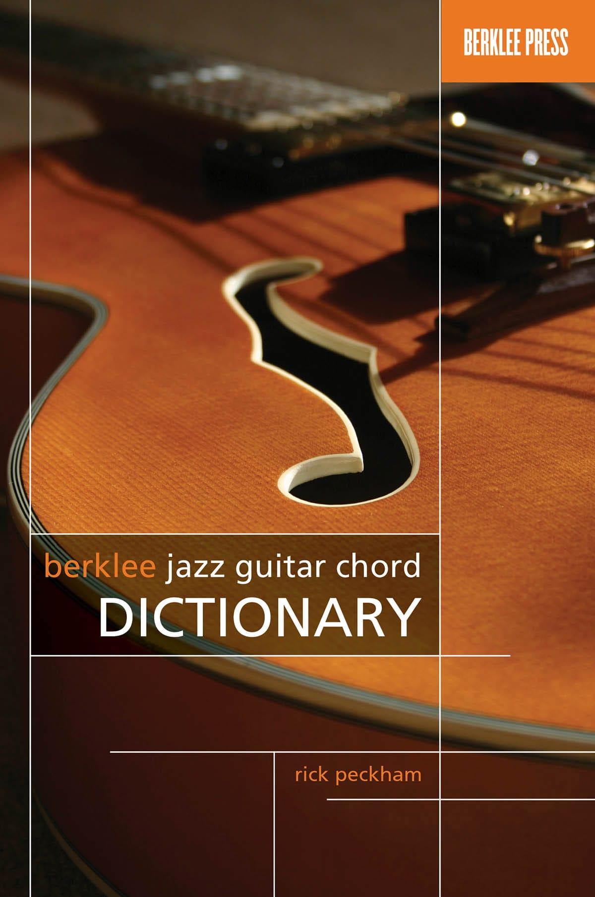 Berklee Jazz Guitar Chord Dictionary - Rick Peckham - laflutedepan.com