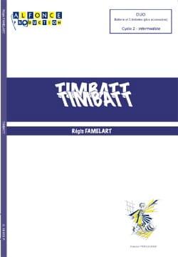 Régis Famelart - Timbatt - Partition - di-arezzo.co.uk