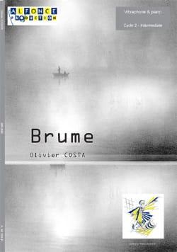 Brume - Olivier Costa - Partition - Vibraphone - laflutedepan.com