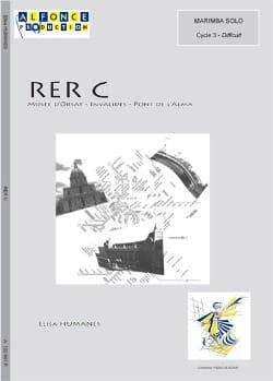 RER C - Elisa Humanes - Partition - Marimba - laflutedepan.com