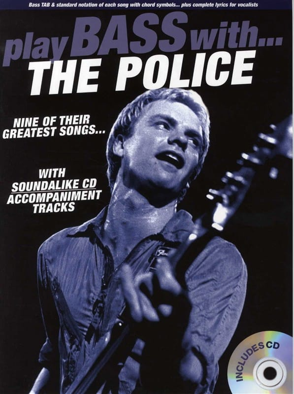 Play Bass With... The Police - The Police - laflutedepan.com