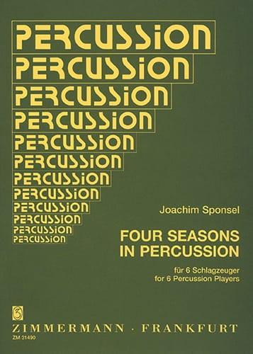Four Seasons In Percussion - Joachim Sponsel - laflutedepan.com