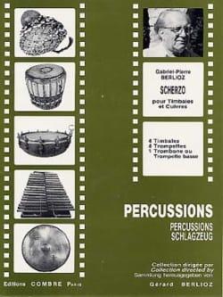 Scherzo - Gabriel-Pierre Berlioz - Partition - laflutedepan.com