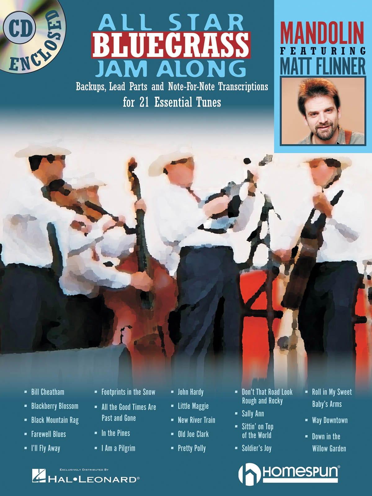 All Star Bluegrass Jam Along - Matt Flinner - laflutedepan.com