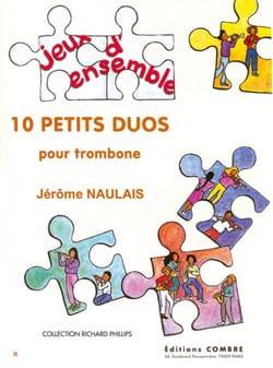 10 Petits Duos - Jérôme Naulais - Partition - laflutedepan.com
