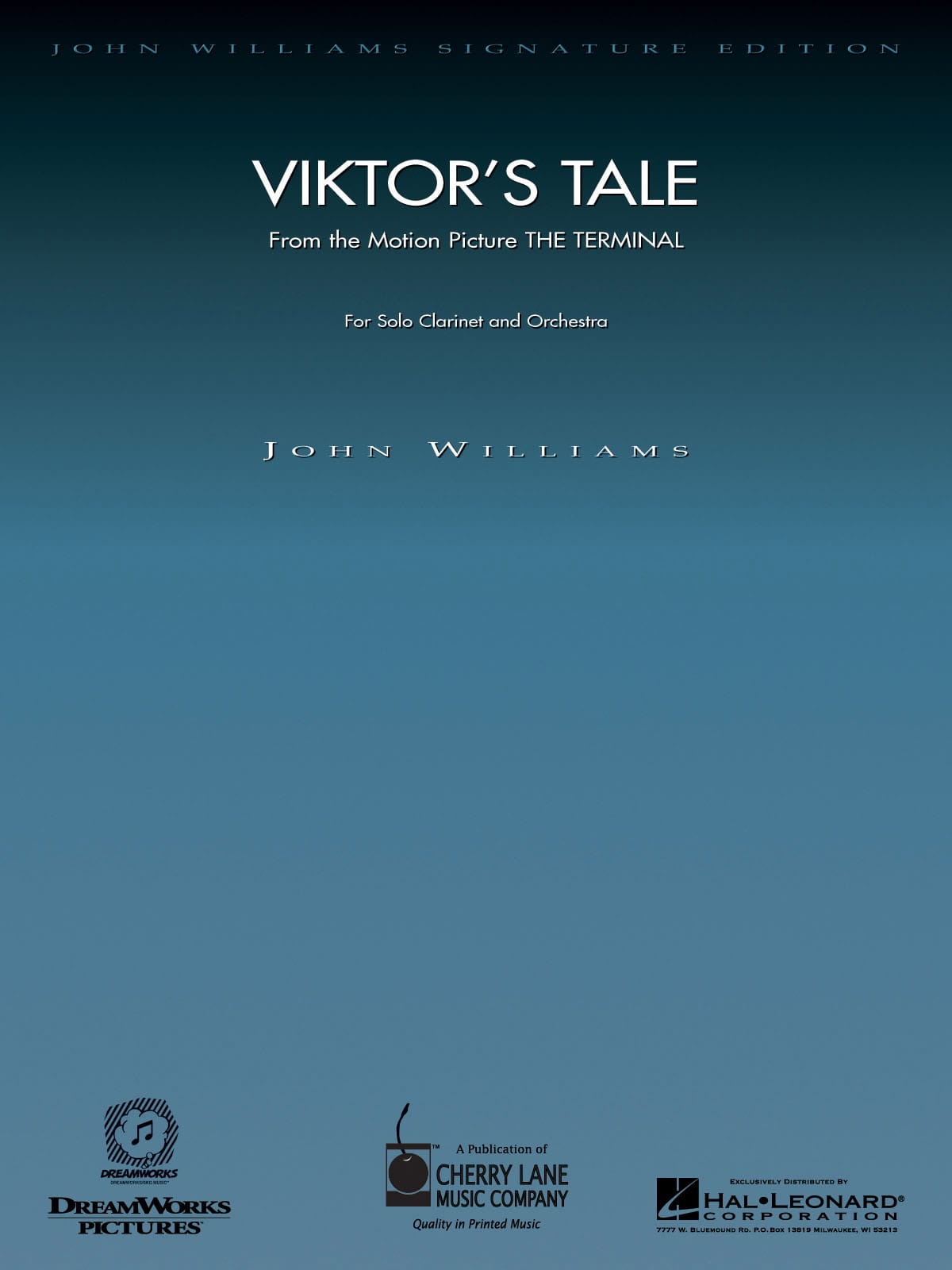 Viktor's Tale - John Williams - Partition - laflutedepan.com