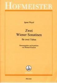 Zwei Wiener Sonatinen - Ignaz Pleyel - Partition - laflutedepan.com