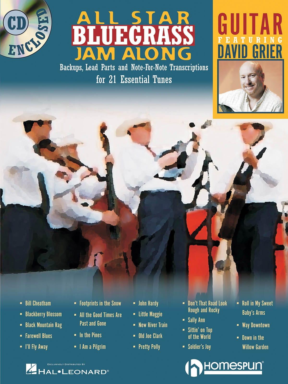 All Star Bluegrass Jam Along - David Grier - laflutedepan.com
