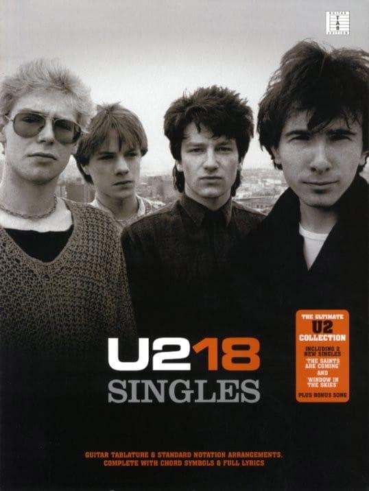 U2 - U2 - 18 Singles - Partition - di-arezzo.co.uk