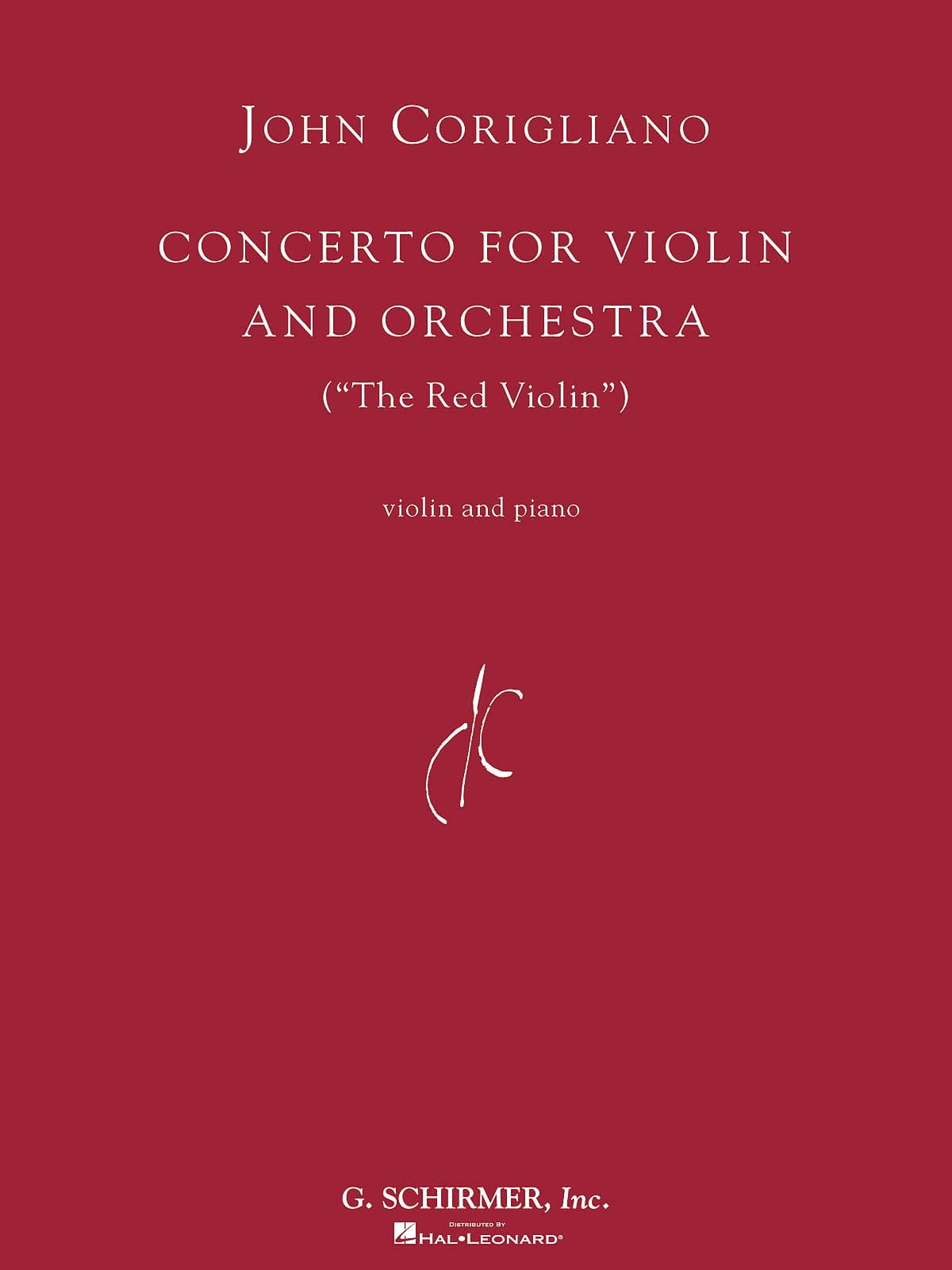 Concerto For Violin And Orchestra The Red Violin - laflutedepan.com