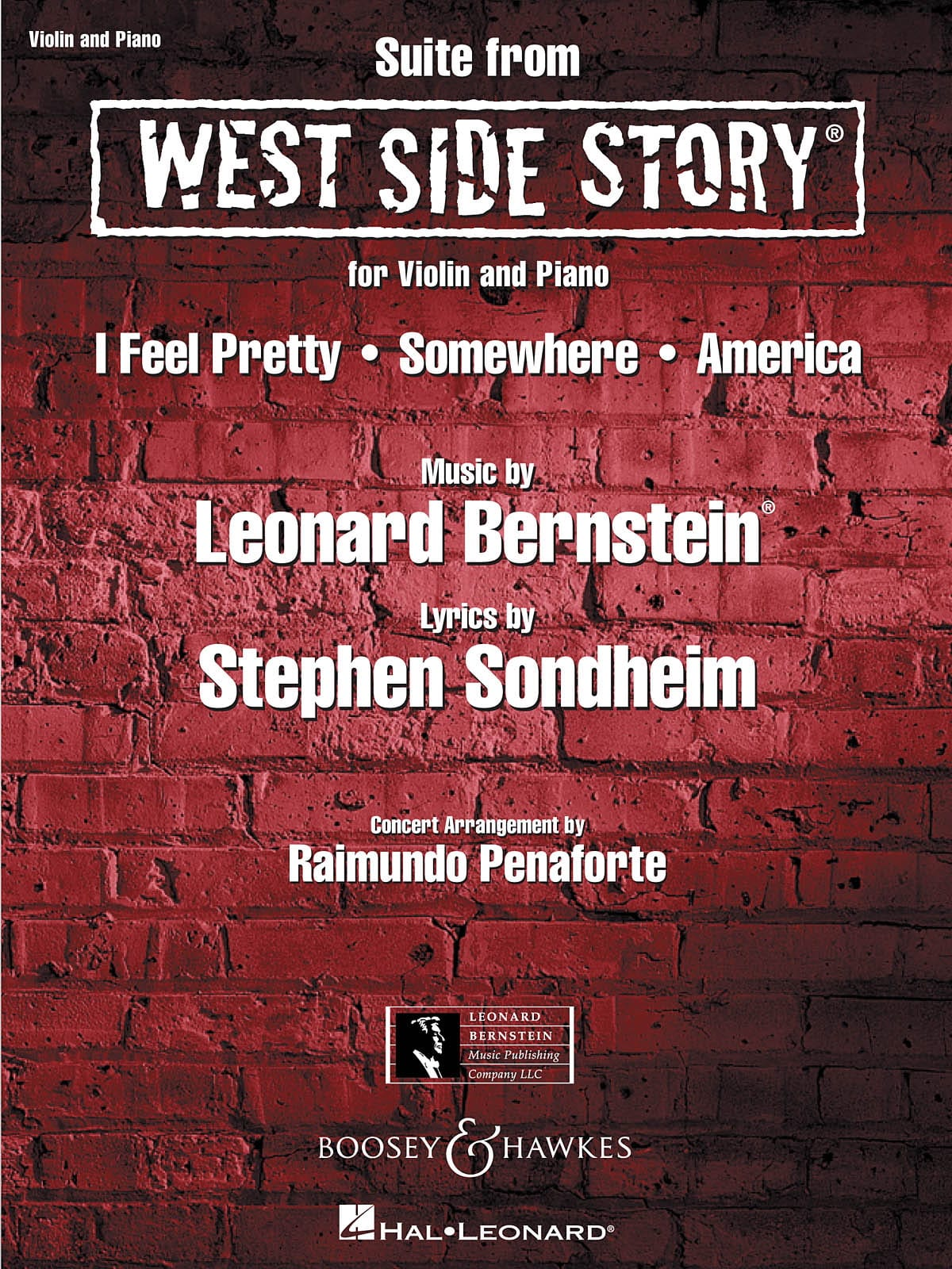 Leonard Bernstein - West Side Story - Partition - di-arezzo.com