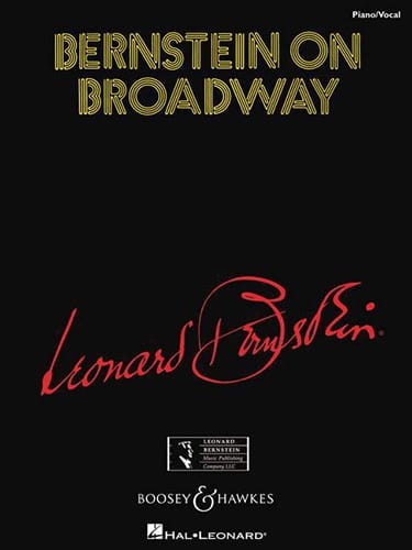 Leonard Bernstein - Bernstein On Broadway - Partition - di-arezzo.co.uk