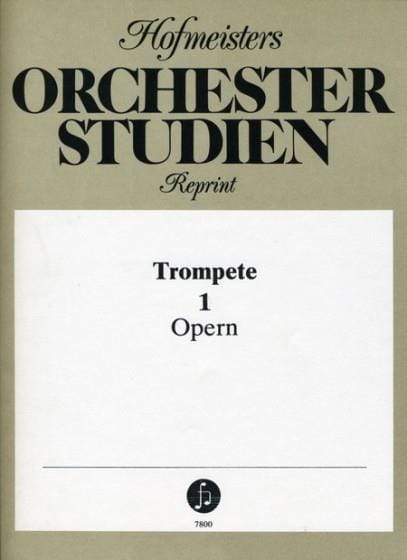 - Orchesterstudien Band 1 - Opern - Partition - di-arezzo.co.uk