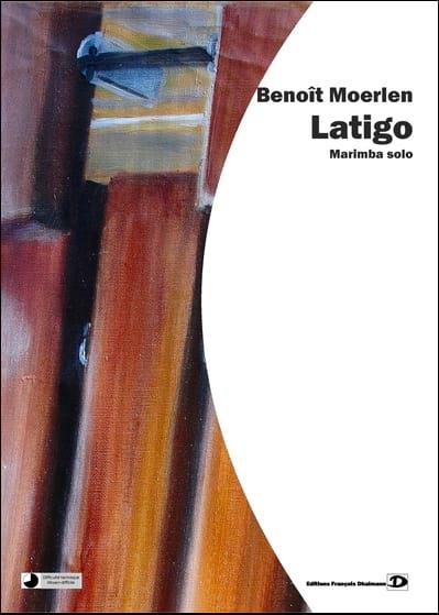 Latigo - Benoît Moerlen - Partition - Marimba - laflutedepan.com