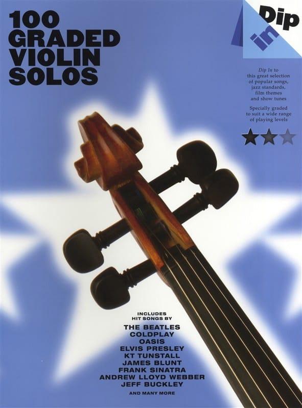 100 Graded Violin Solos - Dip In - Partition - laflutedepan.com