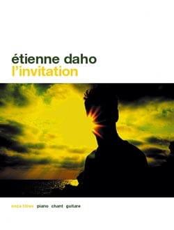 L' Invitation - Etienne Daho - Partition - laflutedepan.com