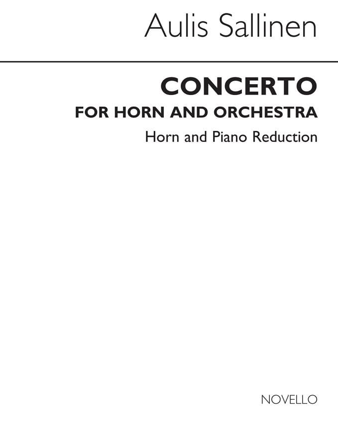Concerto For Horn And Orchestra Op.82 - laflutedepan.com