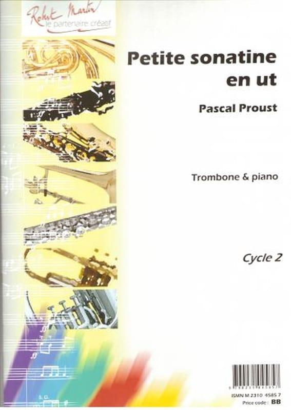 Pascal Proust - Small Sonatine in C - Partition - di-arezzo.co.uk