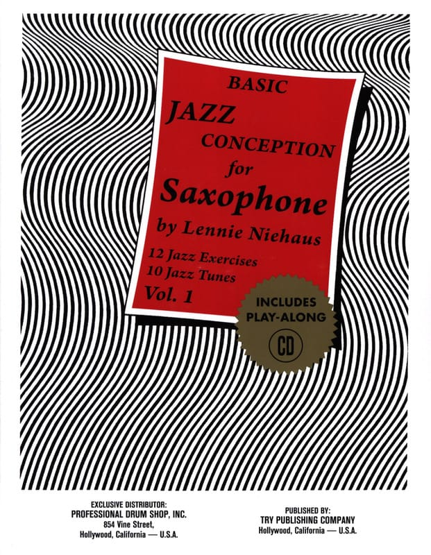 Lennie Niehaus - Basic Jazz Design For Saxophone - Volume 1 - Partition - di-arezzo.com