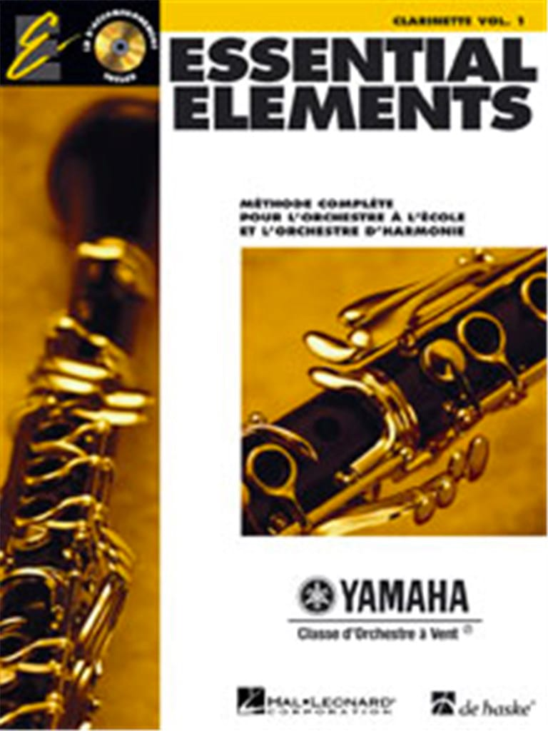 Essential Elements. Clarinette Sib Volume 1 - laflutedepan.com