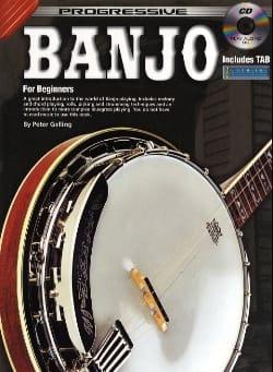 Progressive Banjo - Peter Gelling - Partition - laflutedepan.com