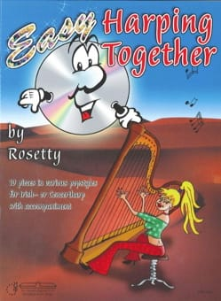Easy Harping Together - Rosetty - Partition - Harpe - laflutedepan.com