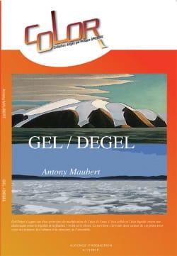 Gel / Degel - Antony Maubert - Partition - laflutedepan.com