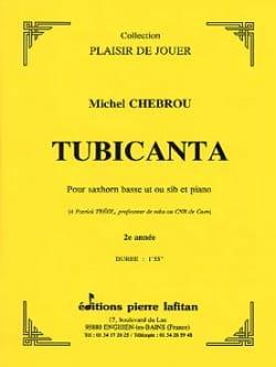 Tubicanta - Michel Chebrou - Partition - Tuba - laflutedepan.com