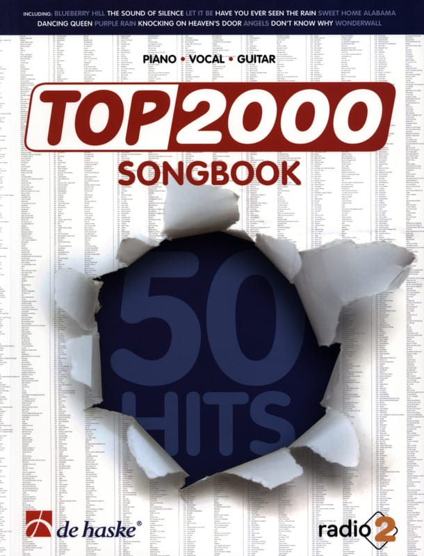 - Top 2000 Songbook - Partition - di-arezzo.fr