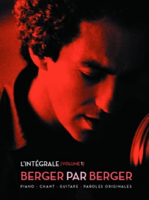 Michel Berger - Berger By Berger - The Complete Volume 1 - Partition - di-arezzo.com