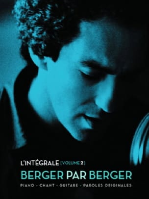 Michel Berger - Berger By Berger - The Complete Volume 2 - Partition - di-arezzo.co.uk