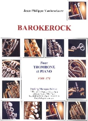 Jean-Philippe Vanbeselaere - Barokerock - Partition - di-arezzo.co.uk