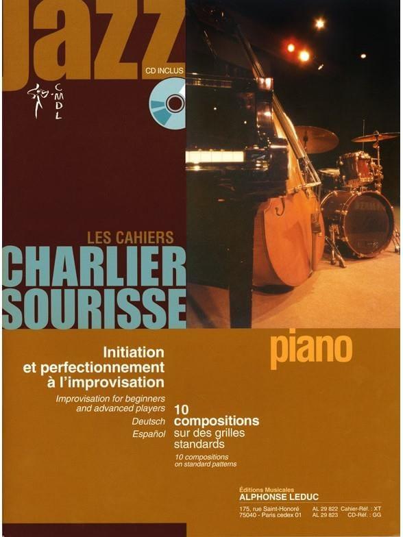 Les Cahiers Charlier Sourisse - 10 Compositions sur des Grilles Standards avec C - laflutedepan.com