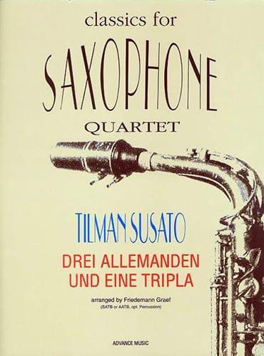Drei Allemanden Und Eine Tripla - Tielman Susato - laflutedepan.com