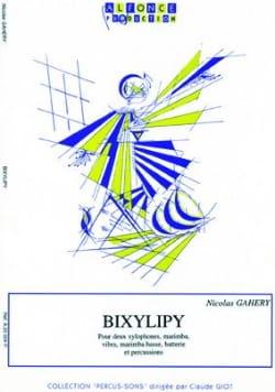 Bixylipy - Nicolas Gahery - Partition - laflutedepan.com