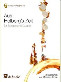 Edgard Grieg - Aus Holberg's Zeit - Partition - di-arezzo.com