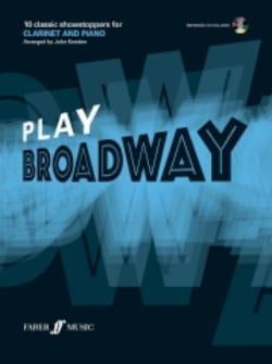 Play Broadway - Partition - Clarinette - laflutedepan.com