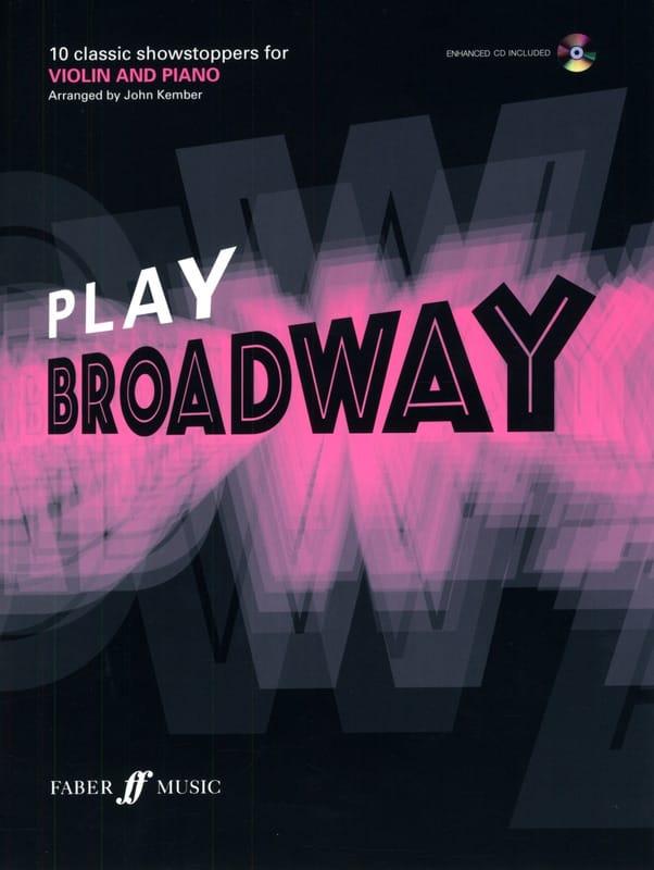 Play Broadway - Partition - Violon - laflutedepan.com
