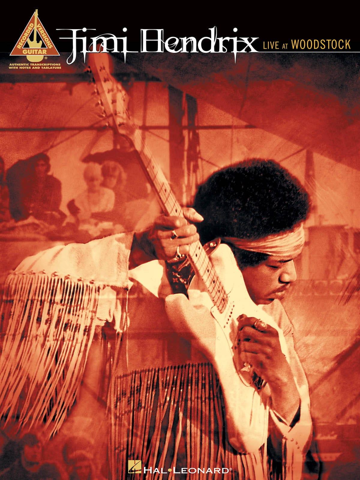Jimi Hendrix - Jimi Hendrix live at Woodstock - Partition - di-arezzo.co.uk