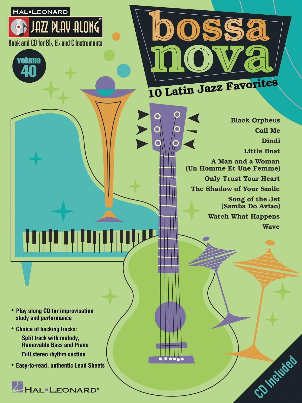 Jazz play-along volume 40 - Bossa Nova - laflutedepan.com