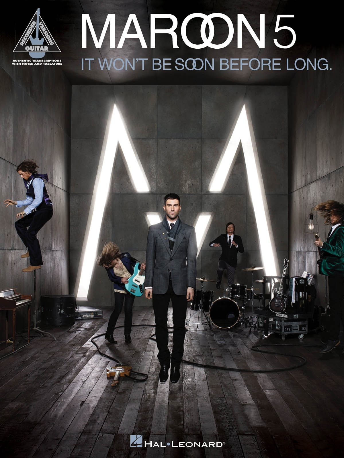 It Won't Be Soon Before Long - Maroon 5 - Partition - laflutedepan.com