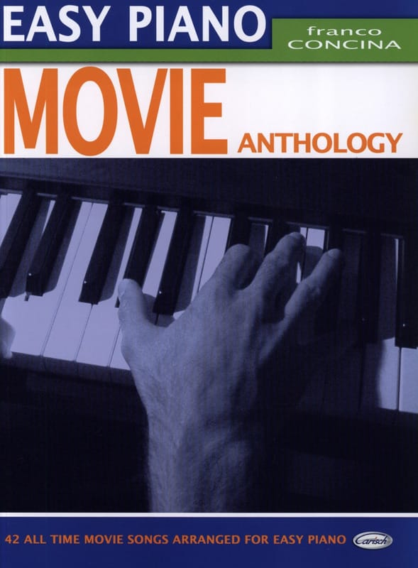 - Easy Piano Movie Anthology - Partition - di-arezzo.co.uk