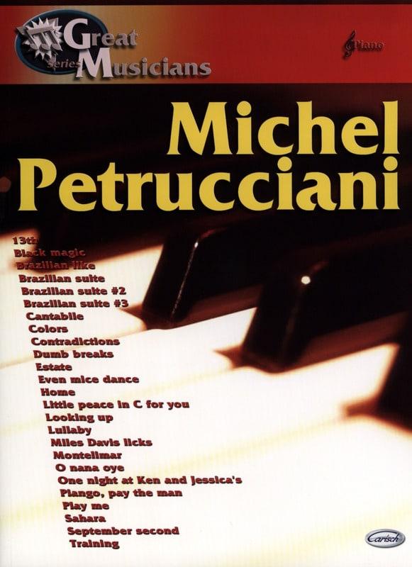 Michel Petrucciani - Great Musicians Series - Partition - di-arezzo.com