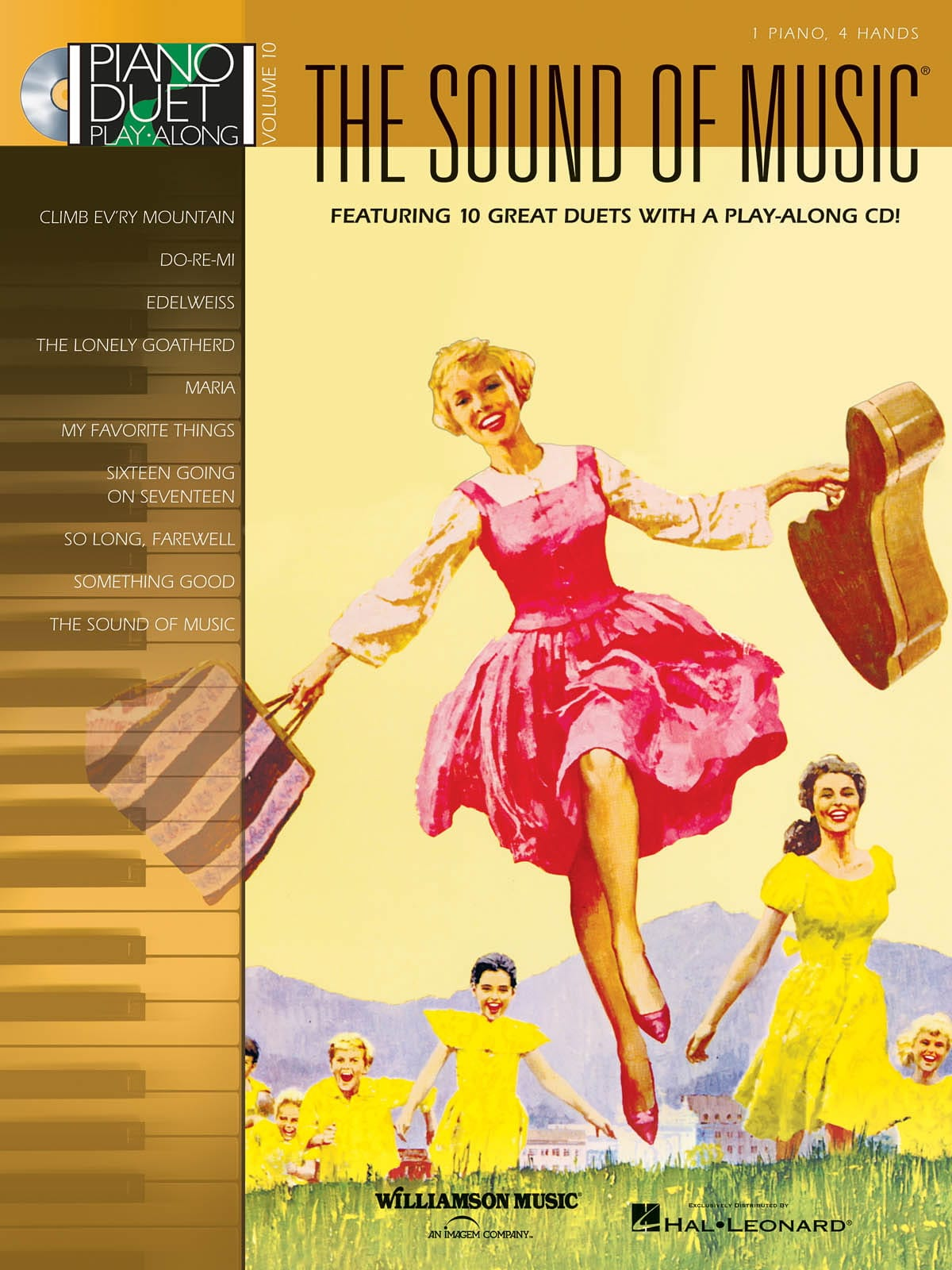 Richard Rodgers - Piano Duet Play Along Volume 10 - The Sound Of Music - Partition - di-arezzo.com