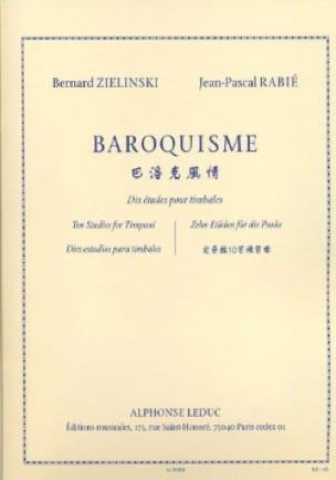 Baroquisme, Dix Etudes Pour Timbales - laflutedepan.com