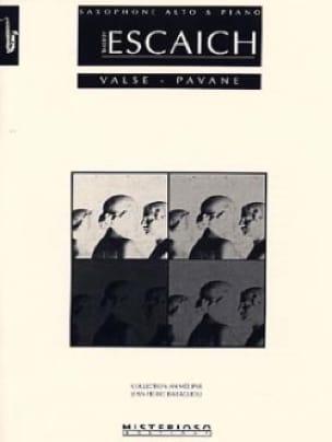 Thierry Escaich - Waltz - Pavane - Partition - di-arezzo.com