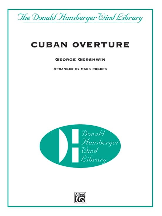 George Gershwin - Cuban Overture - Partition - di-arezzo.com