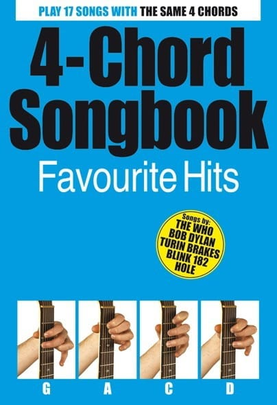- 4-Chord Songbook, Favorite Hits - Partition - di-arezzo.co.uk