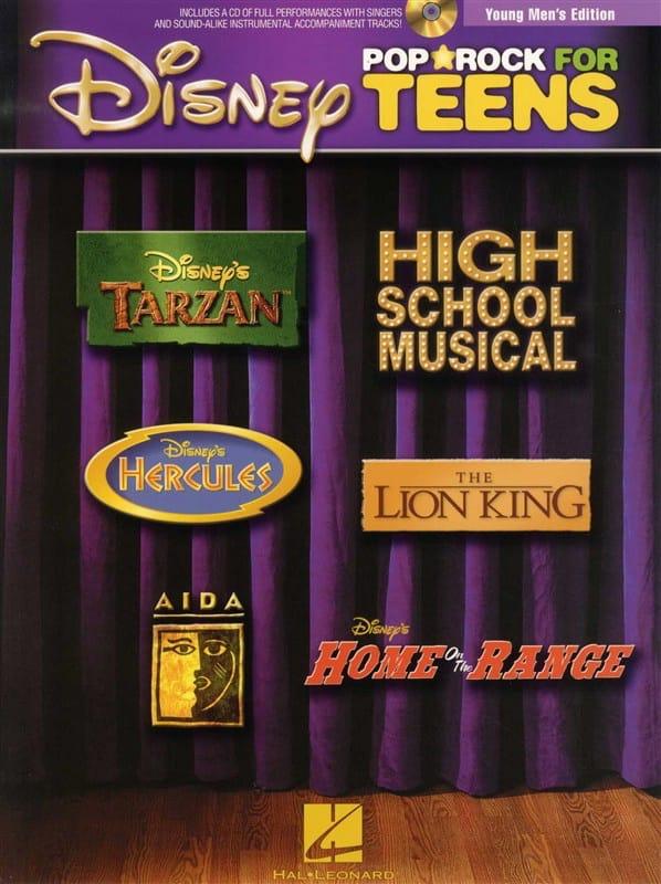 Disney Pop / Rock For Teens - Young Men's Edition - laflutedepan.com